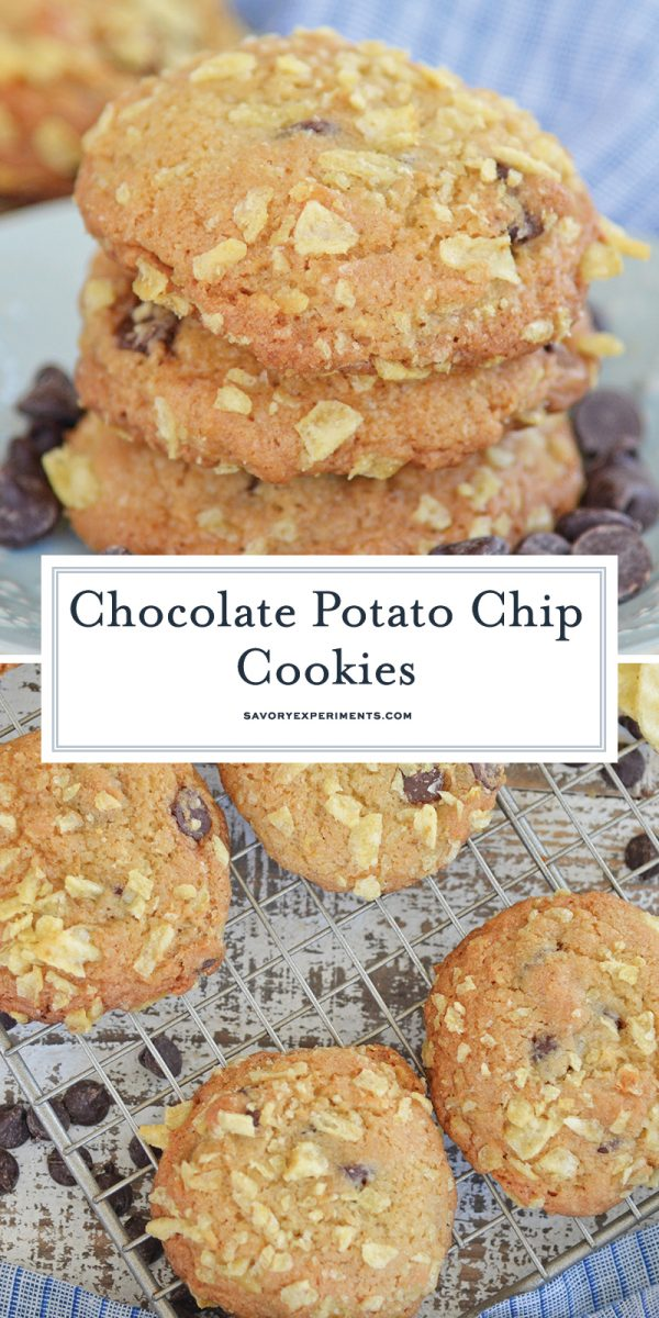 potato chip cookies for pinterest
