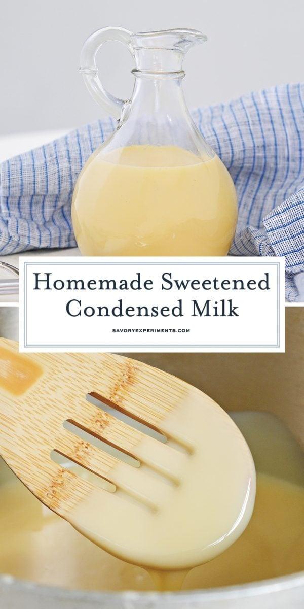 sweetened condensed milk for pinterest
