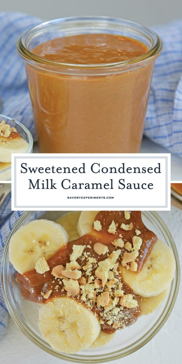 sweetened condensed milk caramel recipe for pinterest