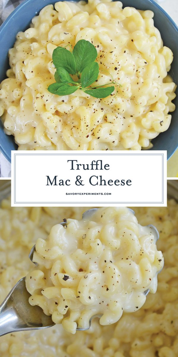truffle mac and cheese for pinterest