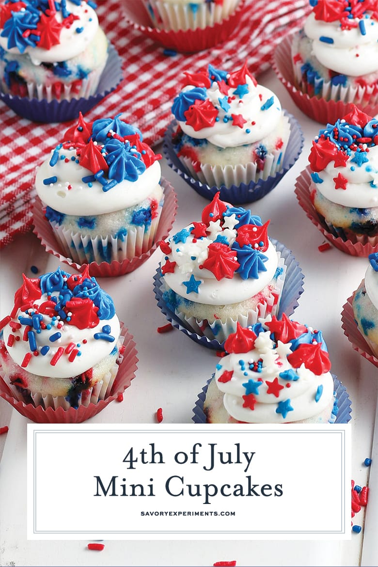 4th of july cupcakes for pinterest