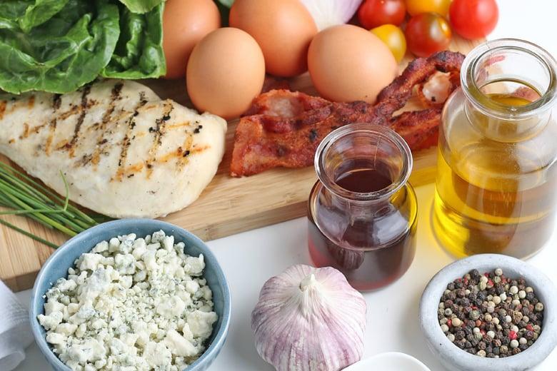 ingredients for cobb salad