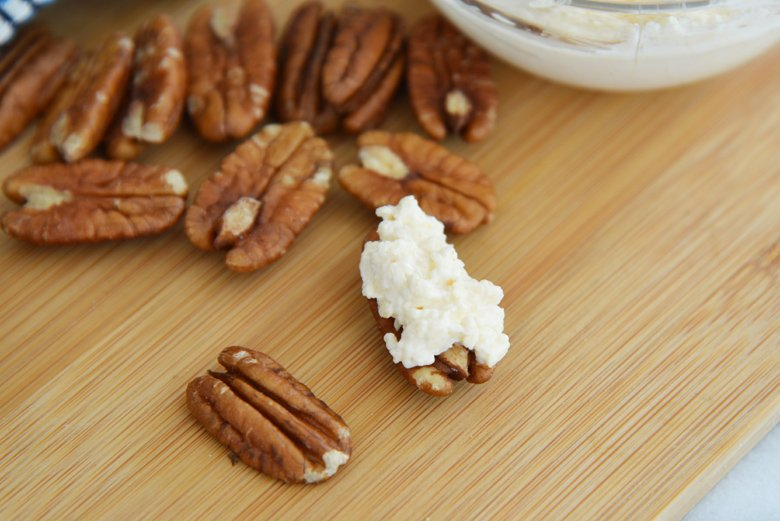how to make stuffed pecans