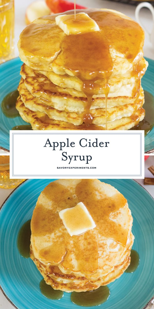 apple cider pancakes for pinterest