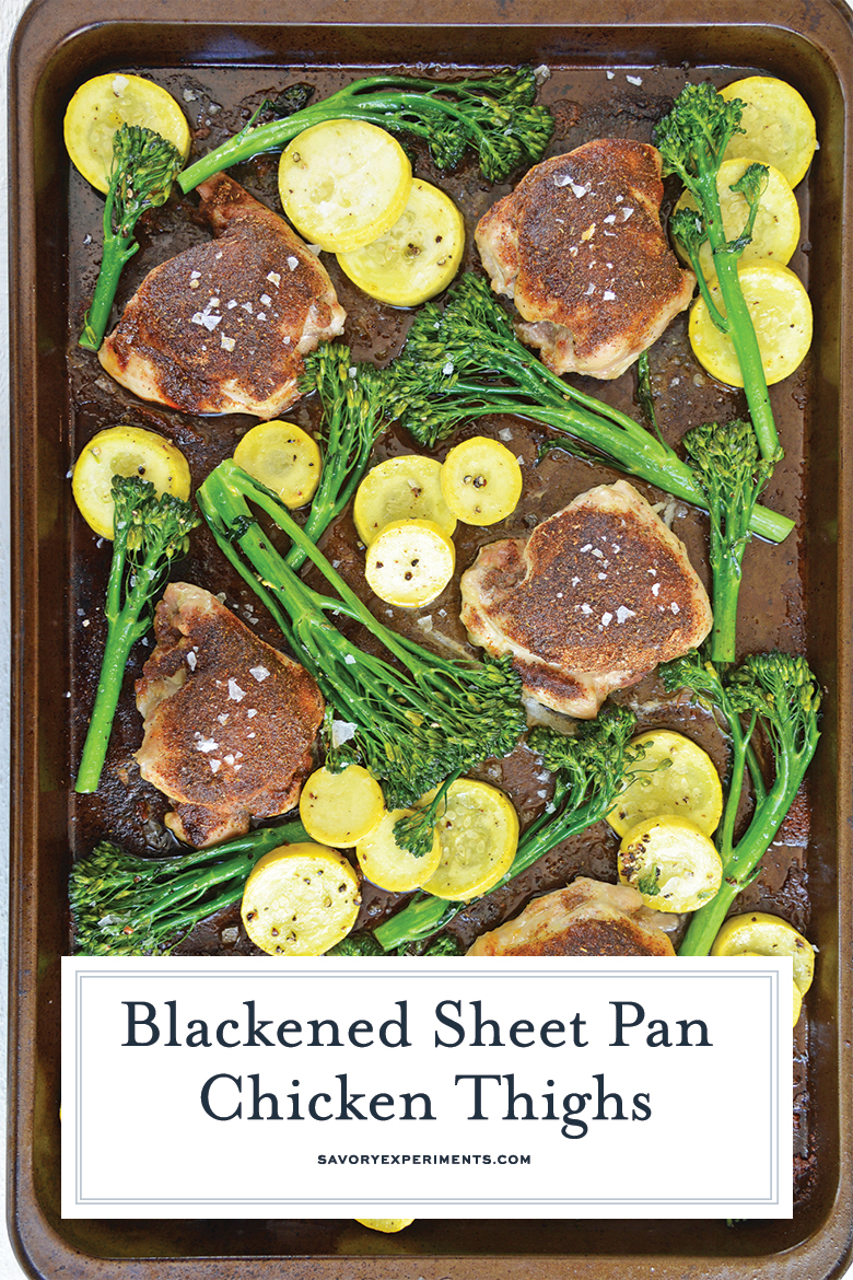 sheet pan chicken dinner for pinterest