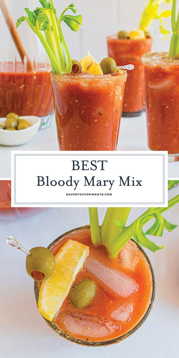BEST bloody mary mix for pinterest