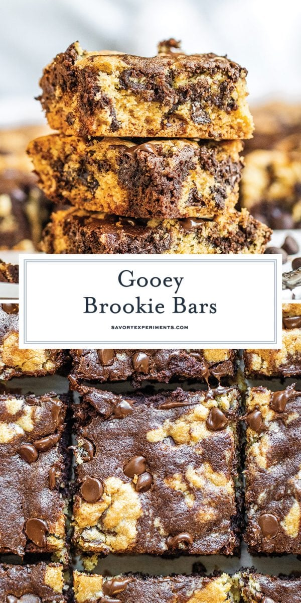 brookie bars for pinterest