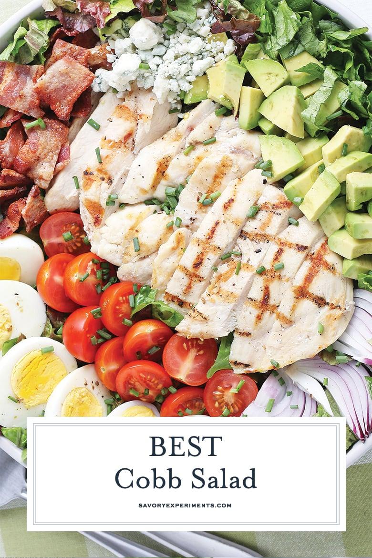 cobb salad recipe for pinterest