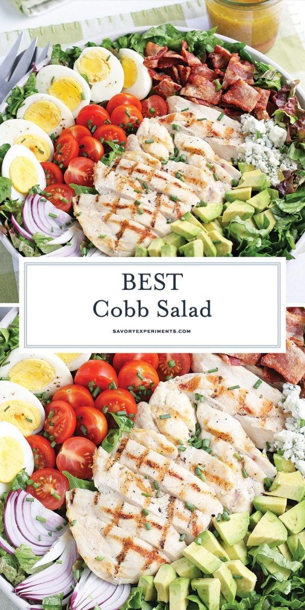 cobb salad for Pinterest