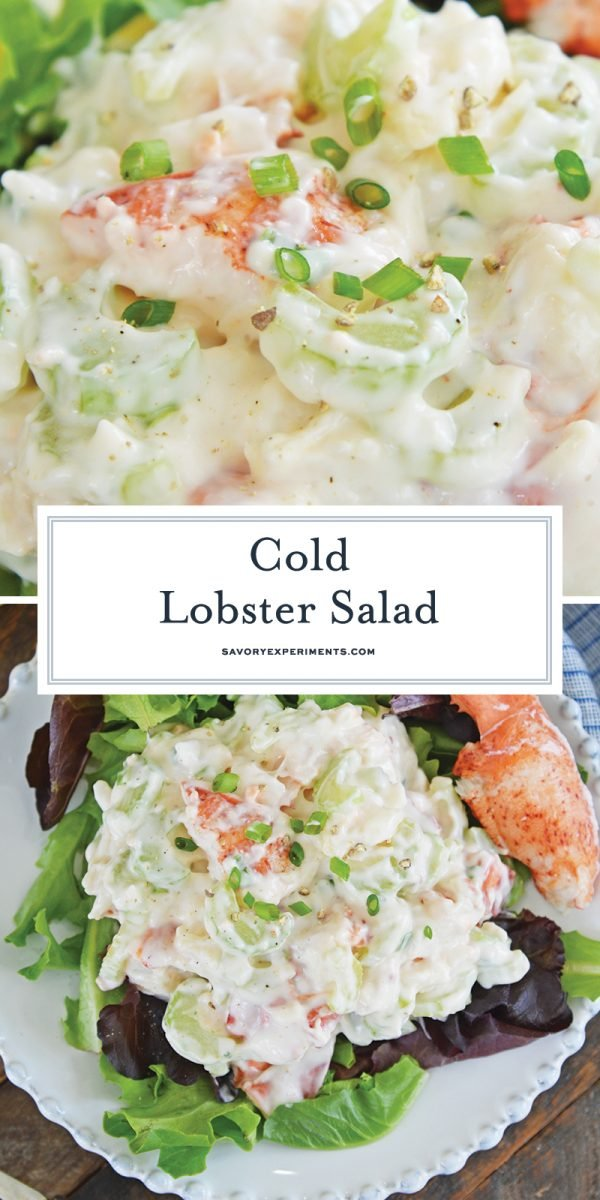 classic lobster salad for pinterest