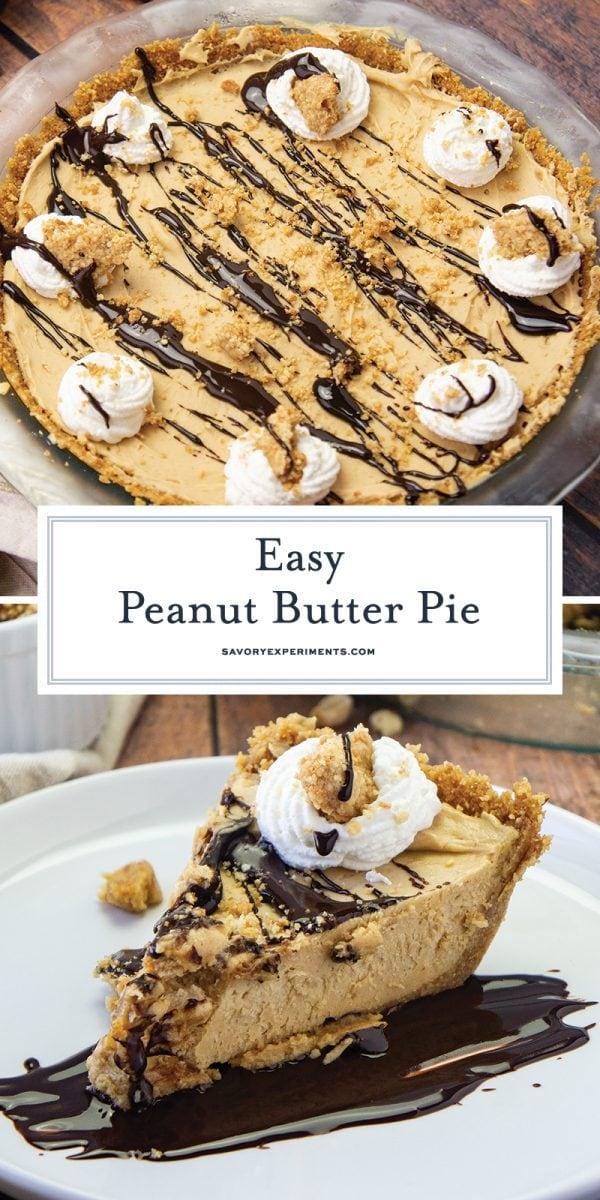 easy peanut butter pie for pinterest