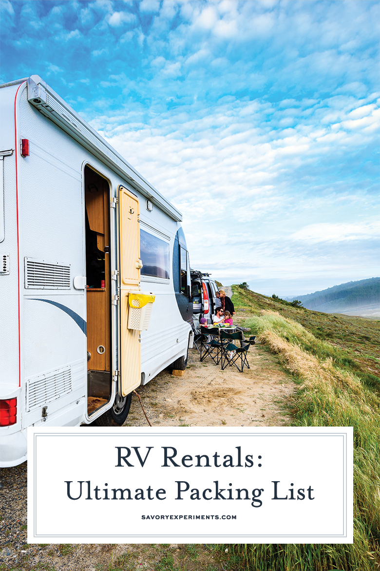 ultimate RV packing list