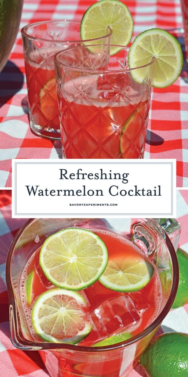 watermelon cocktail for pinterest
