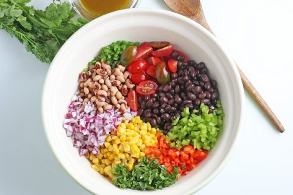 ingredients for cowboy caviar