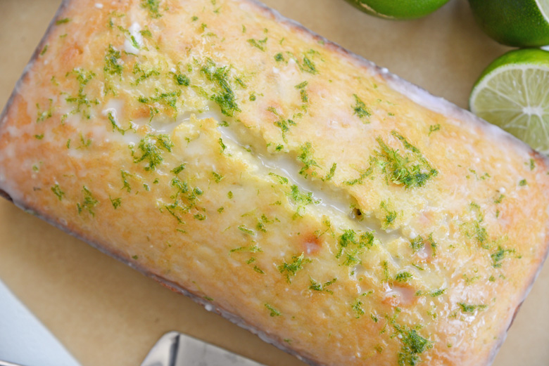 whole loaf lime cake