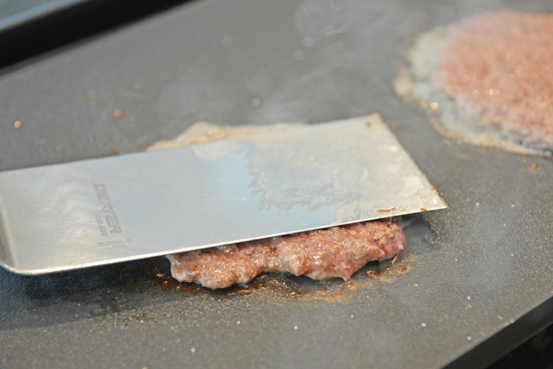 smash burger press
