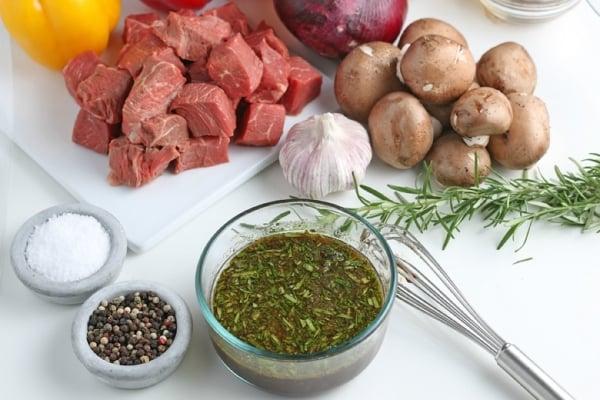 steak kabob marinade