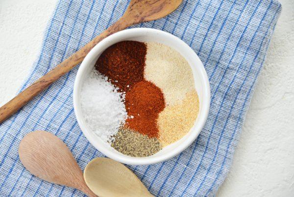 turkey rub ingredients