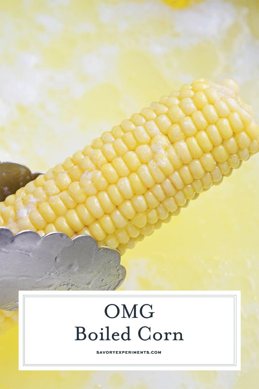 boiled corn for pinterest