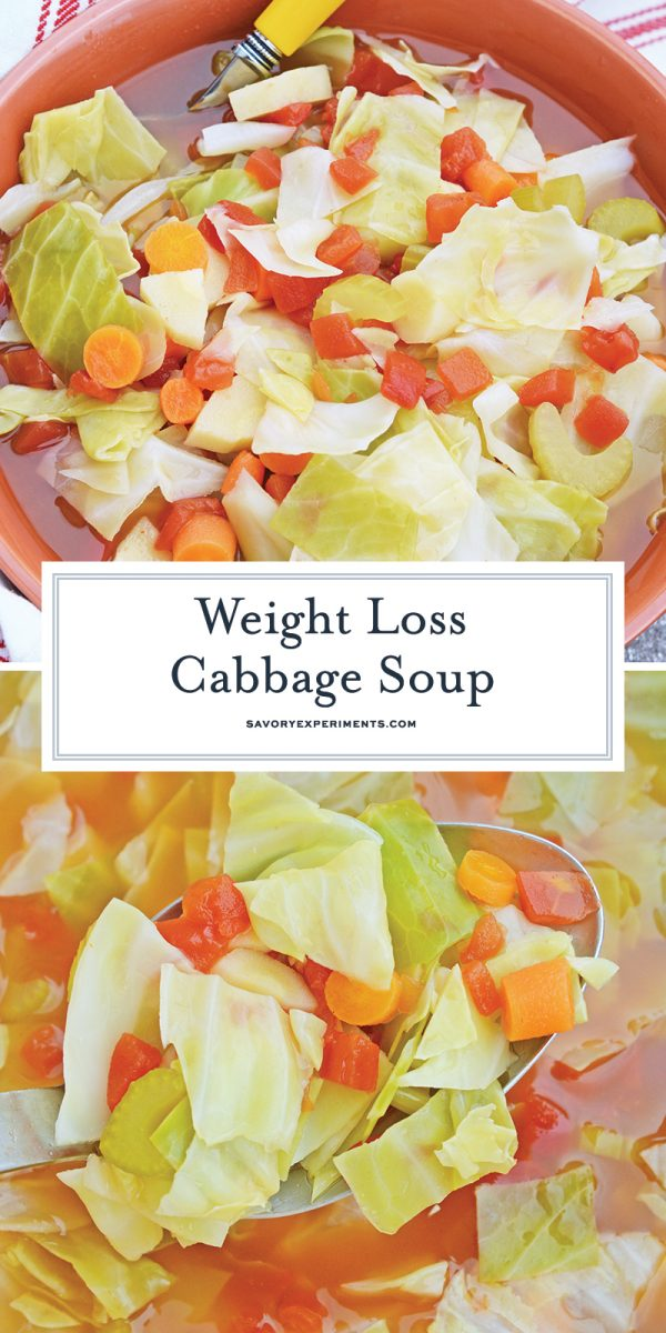 weight loss cabbage soup for pinterest