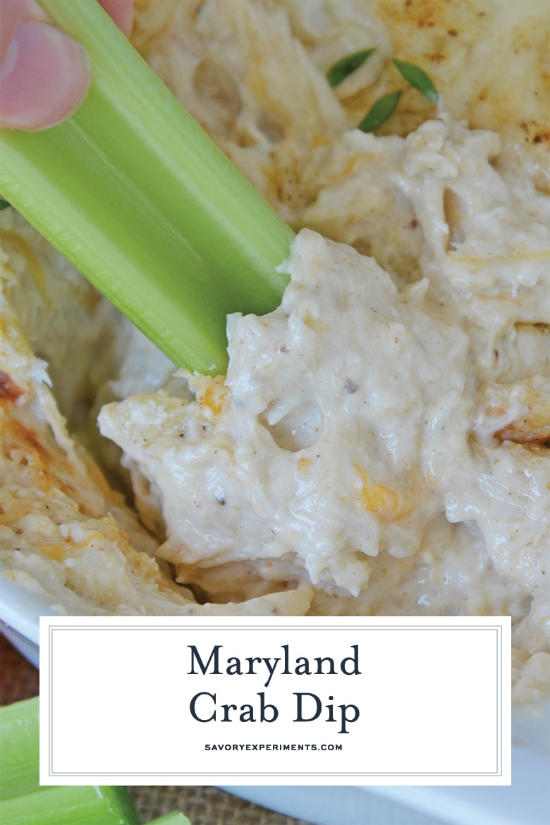 cheesy crab dip for pinterest
