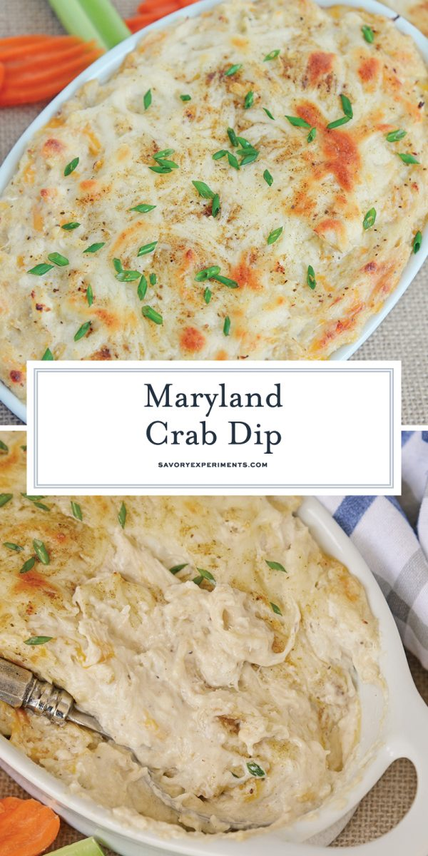hot crab dip for pinterest