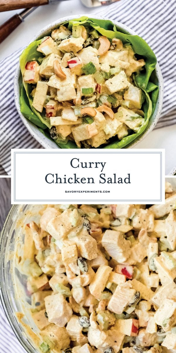 curry chicken salad for pinterest
