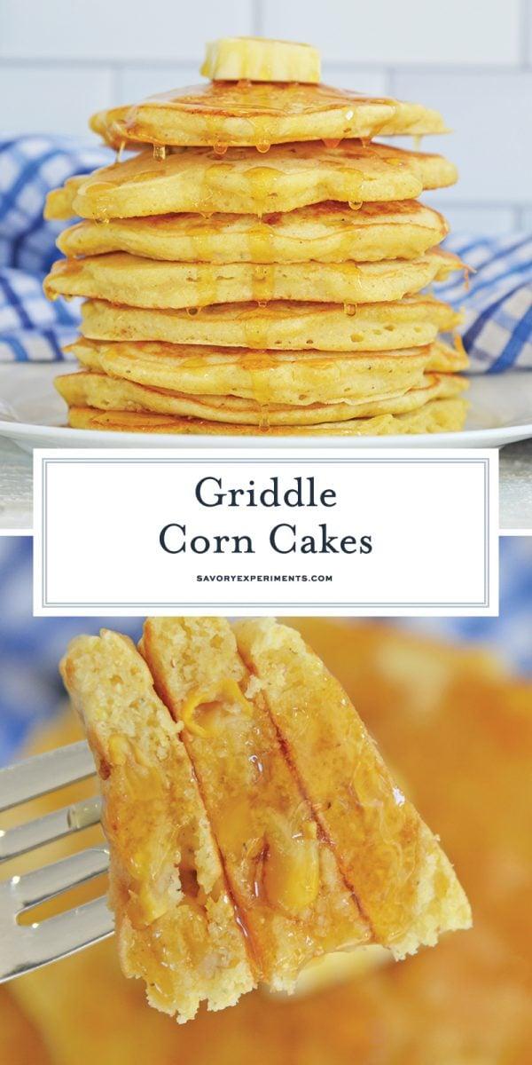 griddle corn cakes for pinterest