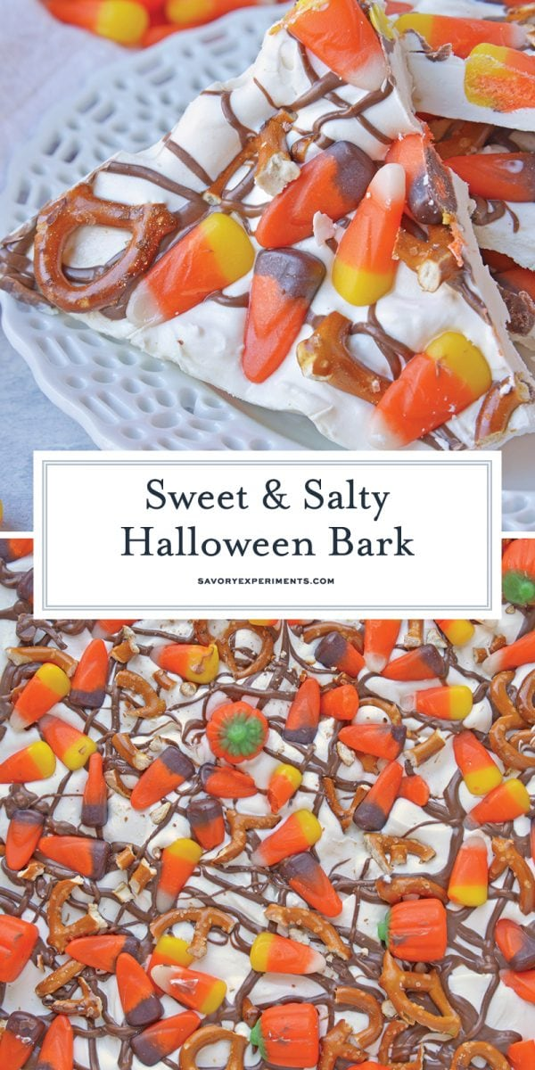 sweet and salty bark for pinterest