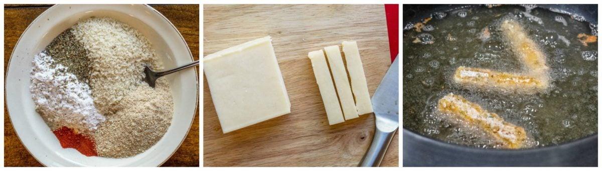 how to make mozzarella sticks