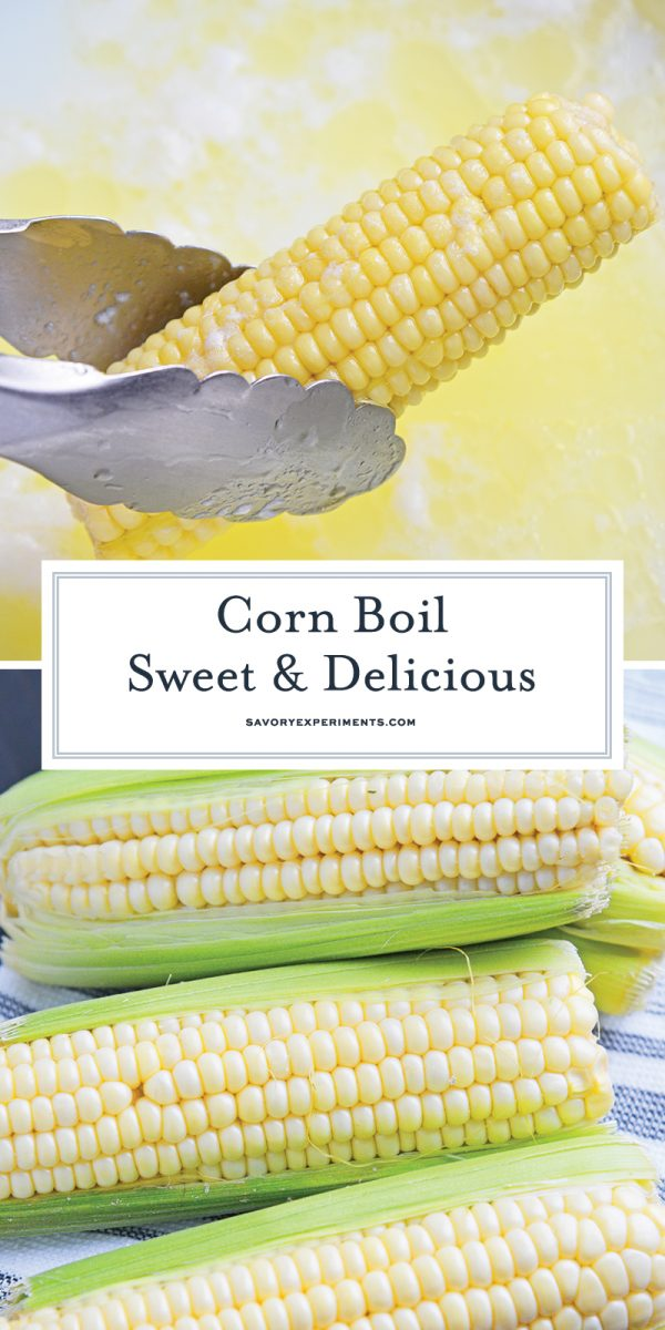 how to boil corn for pinterest