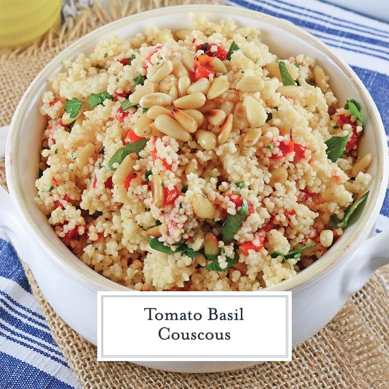 crock of couscous salad
