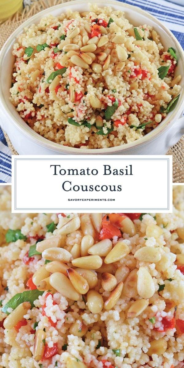 tomato basil couscous salad for pinterest
