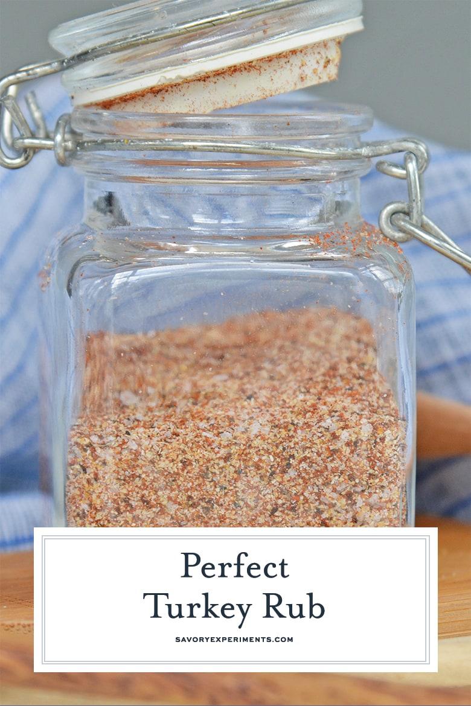 jar of rub seasoning