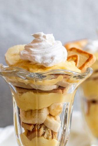 banana pudding cup recipe