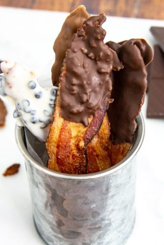 chocolate covered bacon recipe