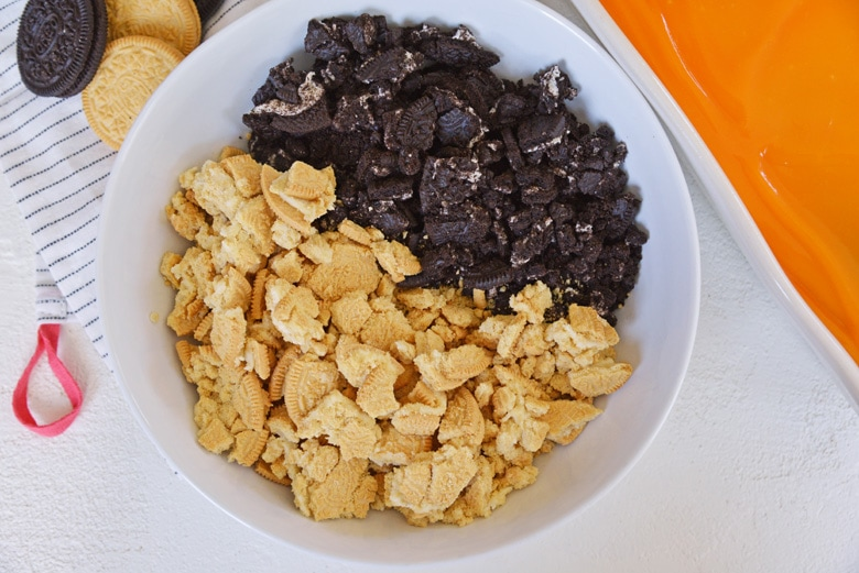 coarsely chopped Oreo cookies
