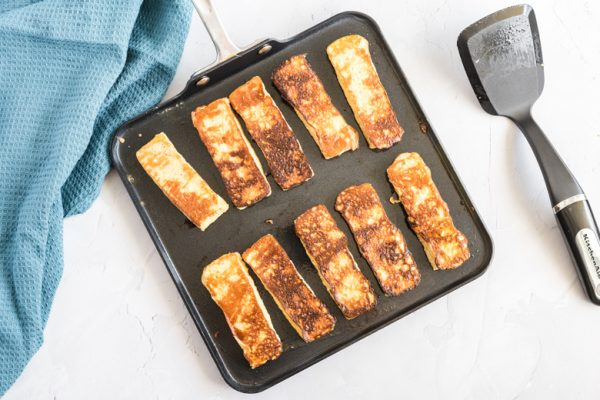 coking french toast sticks