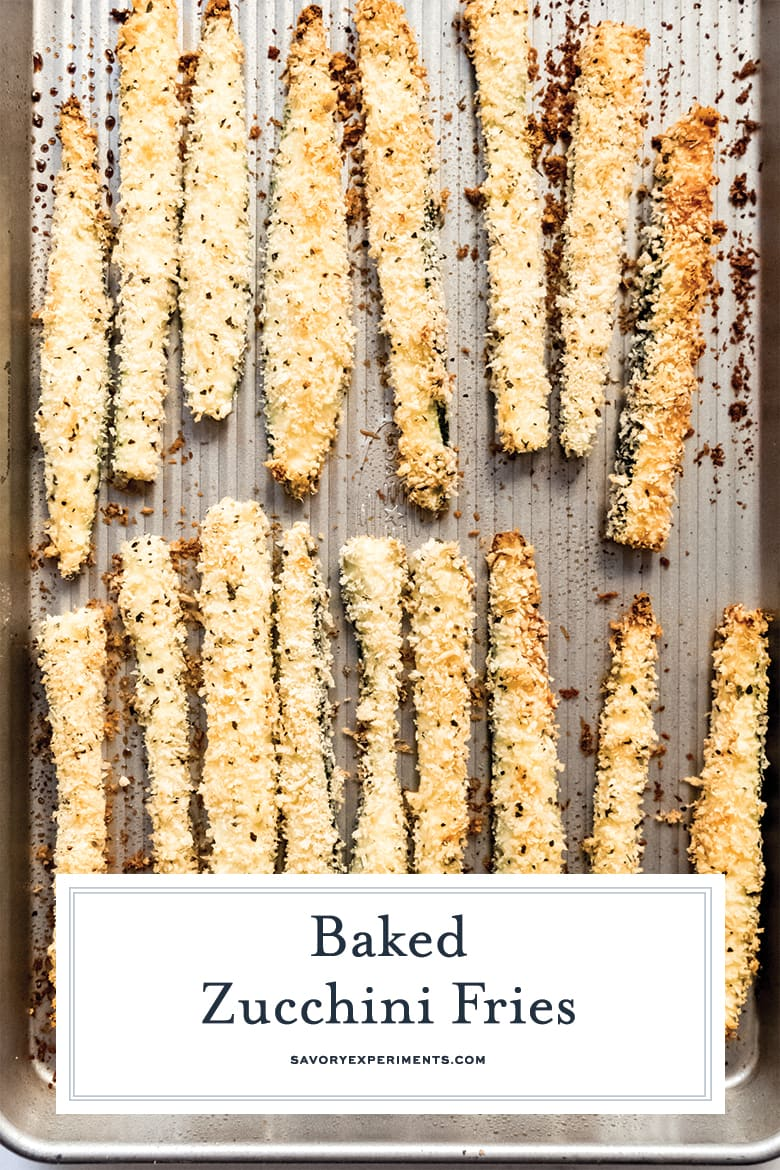 crunchy baked zucchini fries