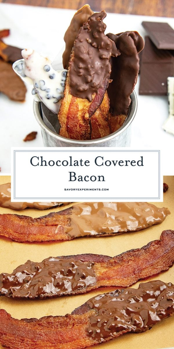 chocolate covered bacon for pinterest