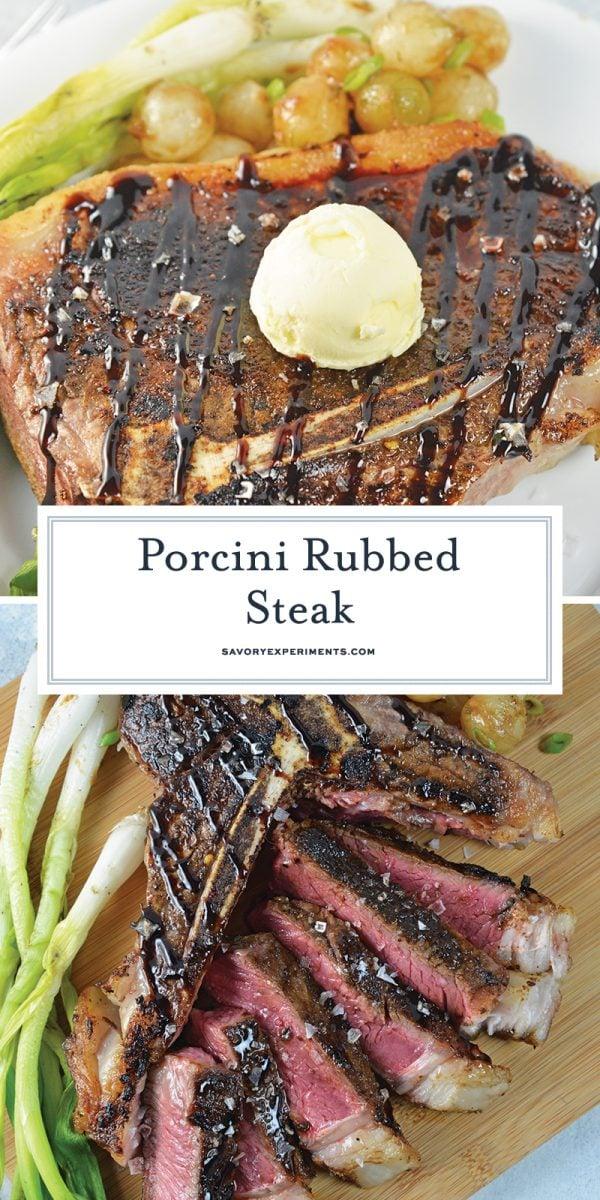 porcini rubbed steak for pinterest