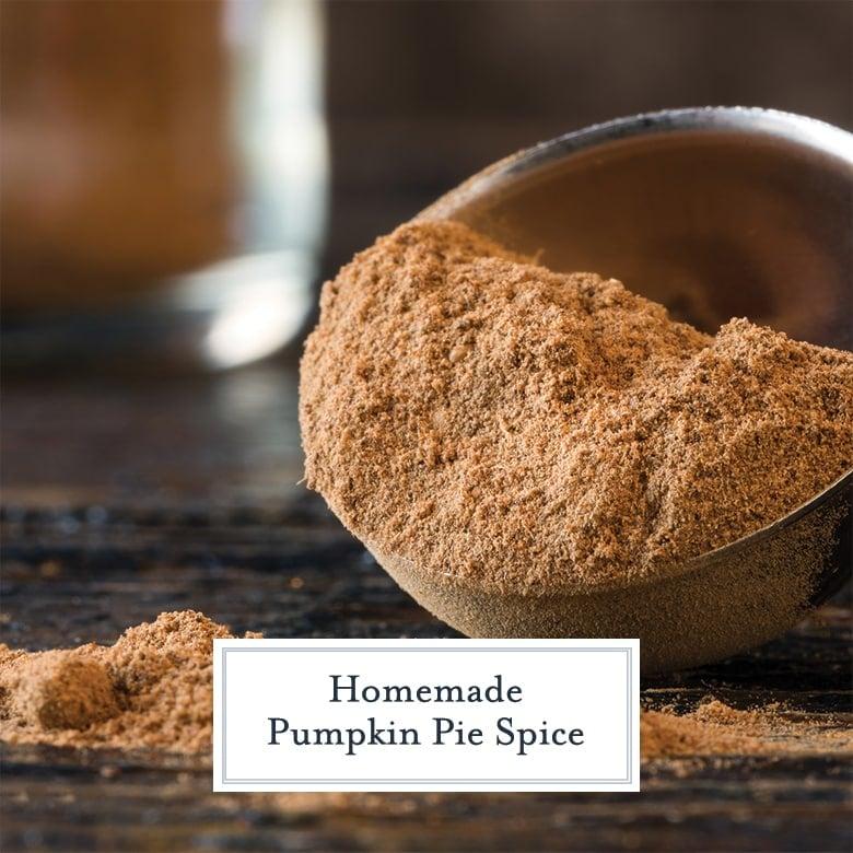 close up of pumpkin pie spice mix