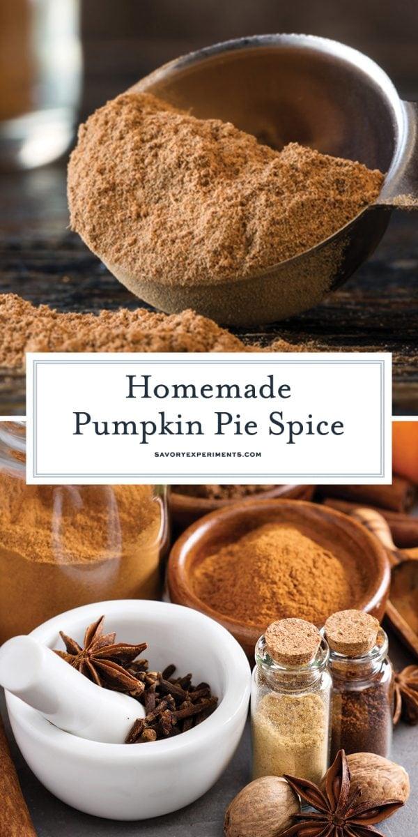 pumpkin pie spice blend for pinterest