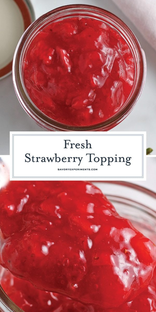 strawberry topping for pinterest