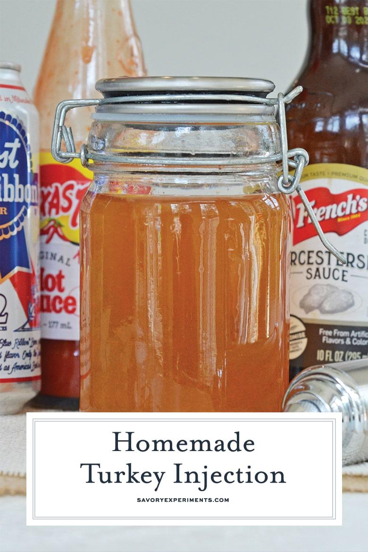 how to make homemade turkey injection marinade