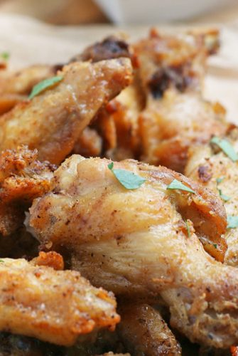 air fryer chicken wings recipe