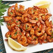 blackened air fryer shrimp recipe