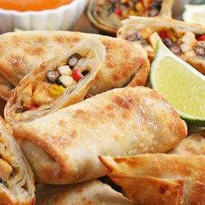 Air Fryer Southwest Egg Rolls