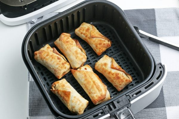 browned air fryer southwest egg rolls