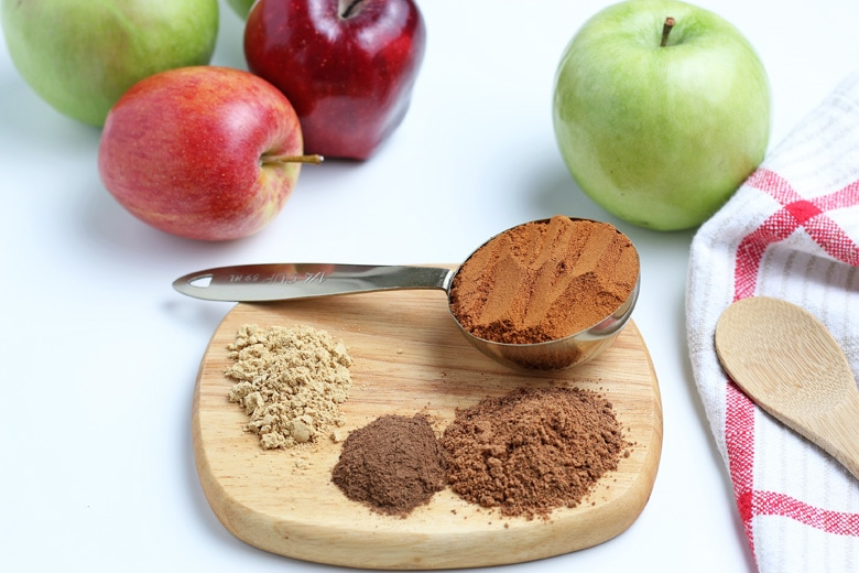 ingredients for apple pie spice